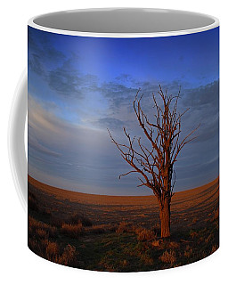 Coffee Mug featuring the photograph Alone Yet Not Alone by Lynn Hopwood