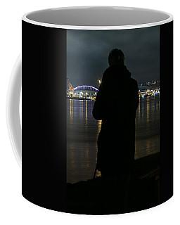Alone On The Shore Coffee Mug