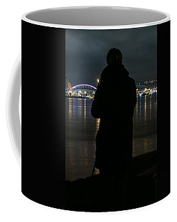 Alone On The Shore Coffee Mug