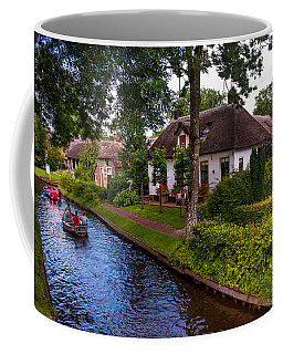 Along The Canal. Giethoorn. Netherland Coffee Mug