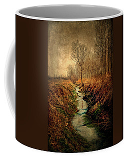 Along The Canal Coffee Mug