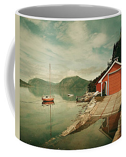 Along The Fjord Coffee Mug