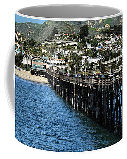 Along The Pier Coffee Mug