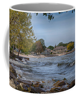 Coffee Mug featuring the photograph Along The Shores Of Marblehead by John M Bailey