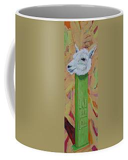 Alpaca Pez Coffee Mug