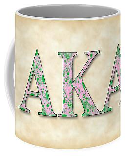Alpha Kappa Alpha - Parchment Coffee Mug