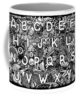 Alphabet Soup Coffee Mug