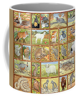 Alphabetical Animals Coffee Mug