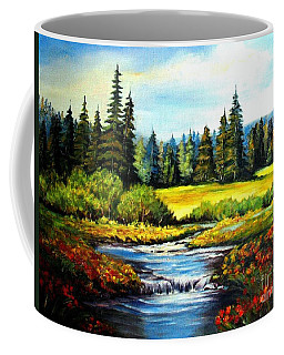 Alpine Meadow Coffee Mug by Hazel Holland