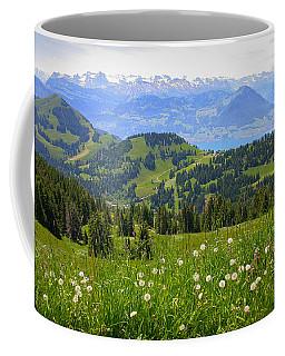Alps From The Rigi Coffee Mug