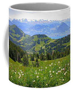 Alps From The Rigi Coffee Mug