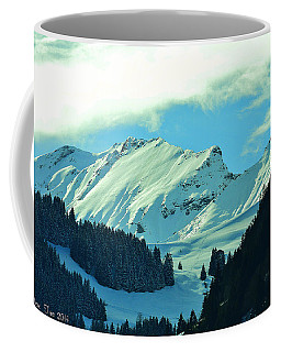 Alps Green Profile Coffee Mug