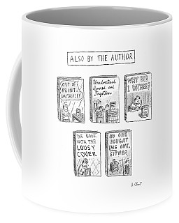 'also By The Author' Coffee Mug