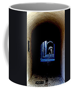 Altered Arch Walkway Coffee Mug by Richard Rosenshein