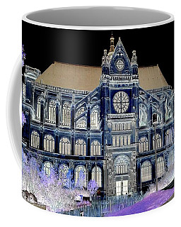 Altered Image Of Saint Eustache In Paris France Coffee Mug by Richard Rosenshein