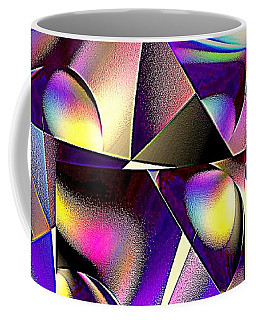 Coffee Mug featuring the digital art Altered View by Greg Moores