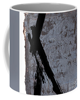 Coffee Mug featuring the painting Alternative Edge I by Paul Davenport