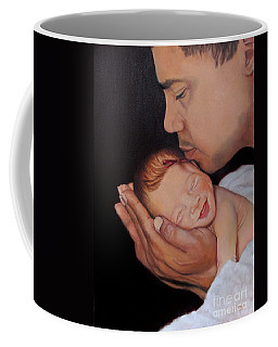 Always In His Heart And In His Hands Coffee Mug