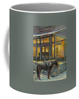 Always Open Coffee Mug by Donna Tucker