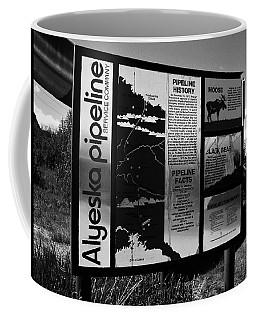 Alyeska Pipeline Coffee Mug by Juergen Weiss
