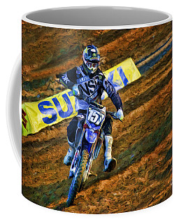 Ama 250sx Supercross Aaron Plessinger Coffee Mug