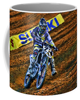 Ama 450sx Supercross Jason Anderson Coffee Mug