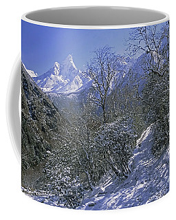 Ama Dablam In Winter Coffee Mug by Rudi Prott