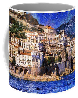 Amalfi Town In Italy Coffee Mug