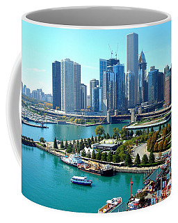 Amazing Chicago Coffee Mug by Kay Gilley