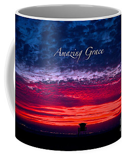 Coffee Mug featuring the photograph Red Sky At Night by Margie Amberge