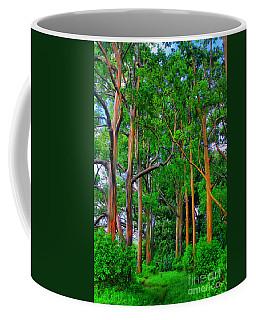 Amazing Rainbow Eucalyptus Coffee Mug by DJ Florek
