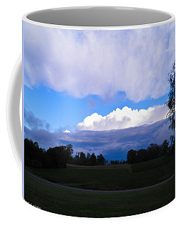 Coffee Mug featuring the photograph Amazing Sky by Nick Kirby