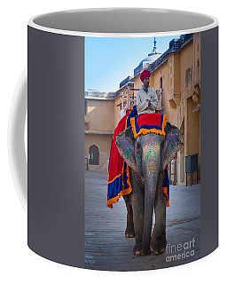 Amber Fort Elephant Coffee Mug