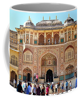 Amber Fort Entrance To Living Quarters - Jaipur India Coffee Mug