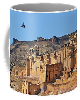 Amber Fort View - Jaipur India Coffee Mug