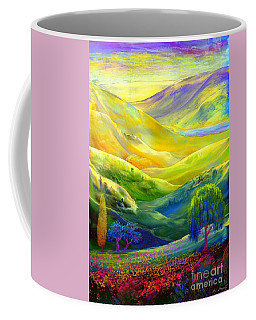 Wildflower Meadows, Amber Skies Coffee Mug