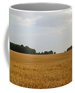 Coffee Mug featuring the photograph Amber Waves by Nick Kirby