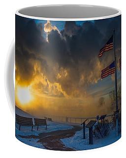 America Frozen Coffee Mug