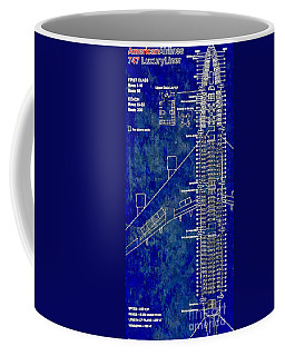 American Airlines 747 Coffee Mug by Daniel Janda