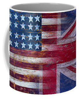 American British Flag Coffee Mug