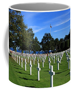 American Cemetery Normandy Coffee Mug