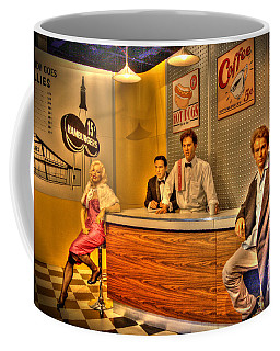 American Cinema Icons - 5 And Diner Coffee Mug