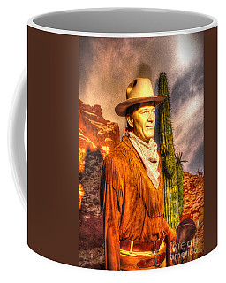 American Cinema Icons - The Duke Coffee Mug