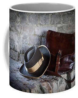 American Civil War Hat And Sack Coffee Mug