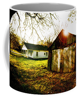 American Fabric   Mickey Mantle's Childhood Home Coffee Mug