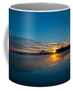 American Lake Sunrise Coffee Mug