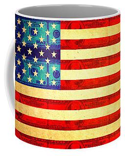American Money Flag Coffee Mug