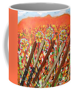 American Mornin' Flower Garden Coffee Mug