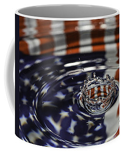 Coffee Mug featuring the photograph American Water Crown by Betty Denise