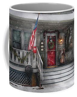 Americana - A Tribute To Rockwell - Westfield Nj Coffee Mug